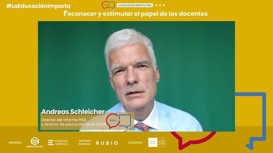 """El director del Informe PISA: """"La calidad de la enseñanza nunca podrá exceder la calidad de los profesores"""""""
