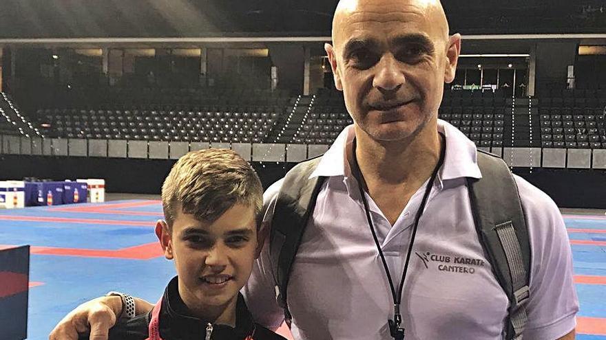 Manel Cantero serà a la Lliga Nacional de karate