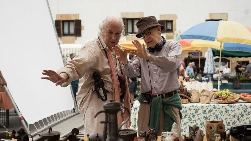 La película que Woody Allen rodó en San Sebastián ya tiene título: 'Rifkin's Festival'
