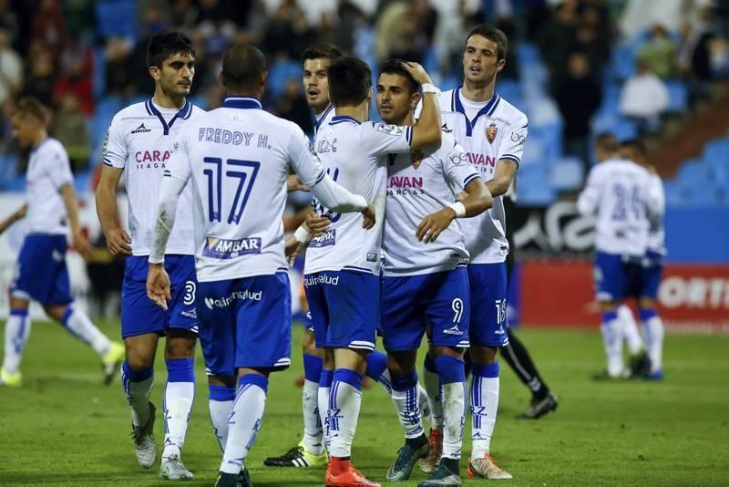 Las imágenes del Real Zaragoza-Llagostera