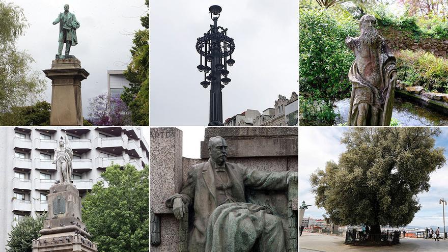 Los monumentos de Vigo con lustre... y cuentakilómetros