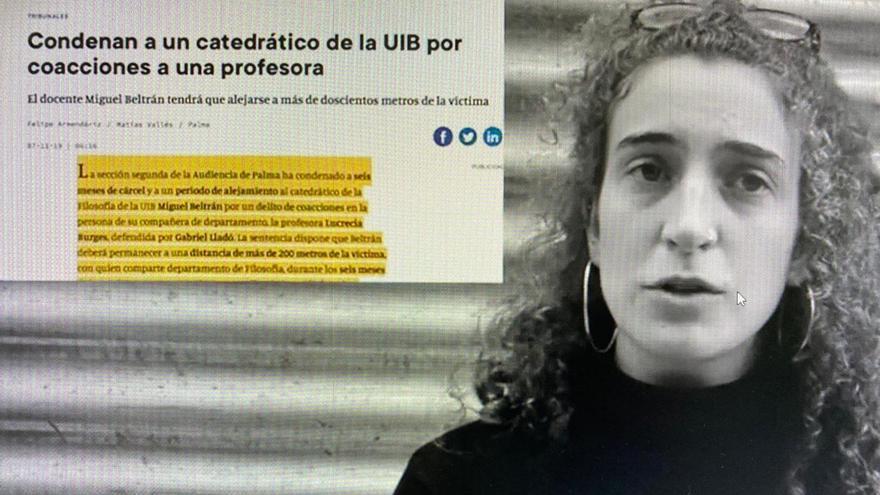 Exigen a la UIB que expulse al catedrático Miguel Beltrán, condenado por acosar a una profesora durante seis años