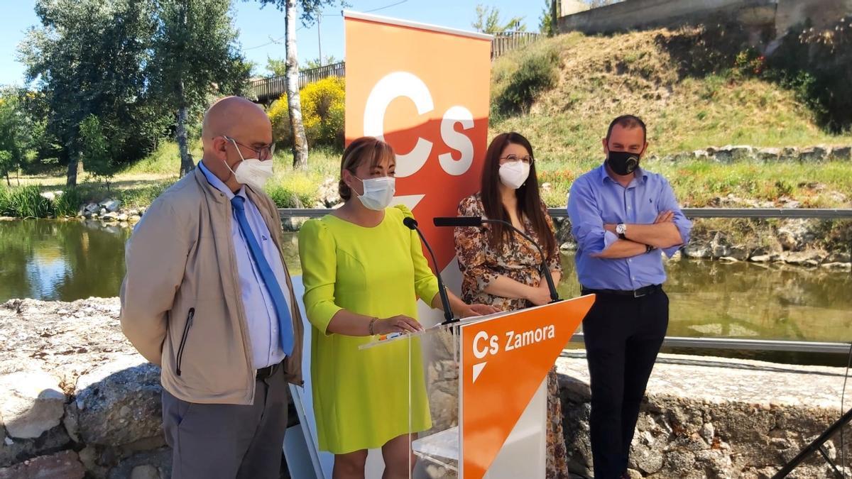 Presentación de la nueva Junta Directiva de Ciudadanos Zamora.