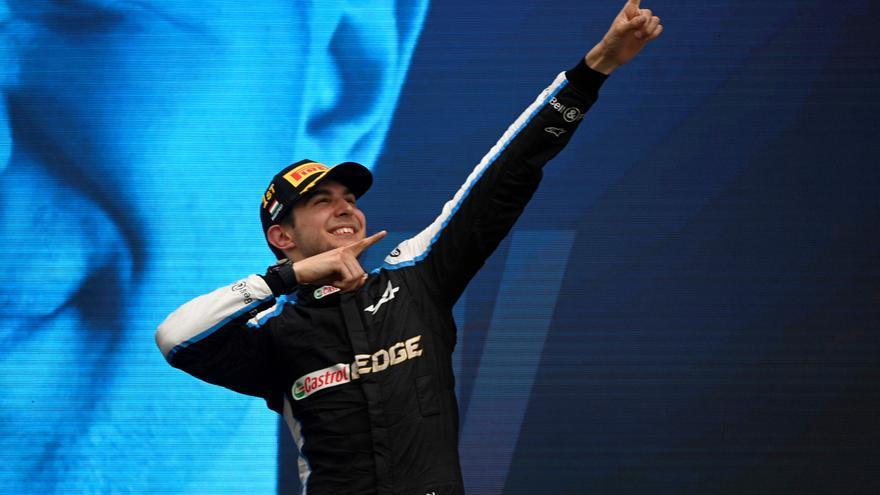 Esteban Ocon gana el Gran Premio de Hungría