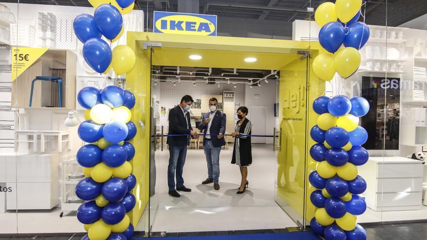 Salaya subraya que Ikea será un polo para atraer clientes a Cáceres