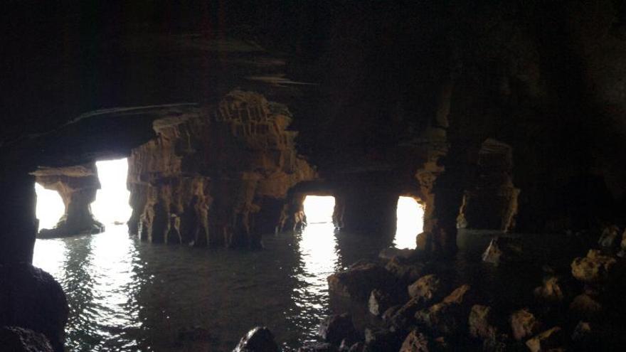 Patrimonio exige que se evite la afluencia masiva a la Cova Tallada de Xàbia