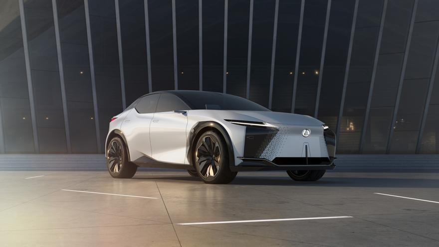 Lexus LF-Z, el coche eléctrico más avanzado