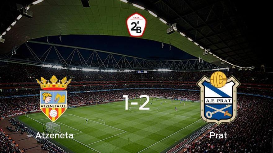 El Prat vence 1-2 al Atzeneta y se lleva los tres puntos