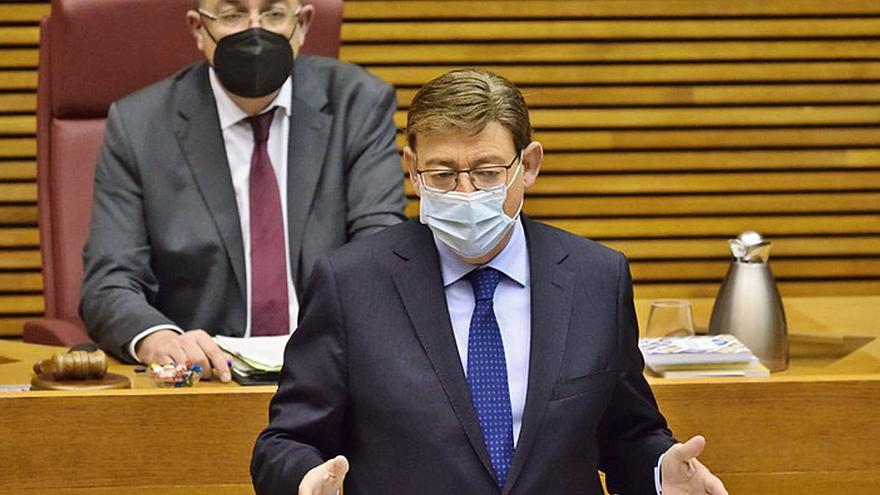 La campaña de Madrid se cuela en las Cortes: entre las cañas de Ayuso y la gestión sanitaria del Consell