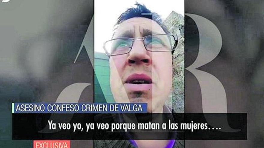 """El autor del triple crimen de Valga: """"Ya están las tres para enterrar, ella, su madre y su hermana"""""""