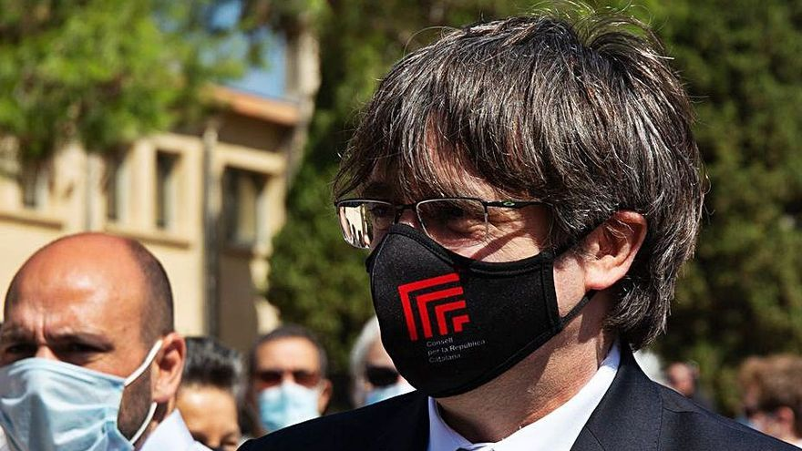 Puigdemont crida a la «confrontació» en vigílies de l'11-S i de la taula de diàleg