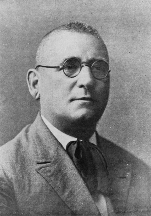 Retrato de Martín Echegaray.