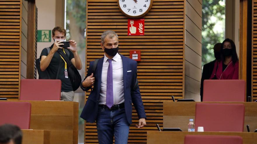 El Constitucional mantiene a Toni Cantó fuera de la lista del PP para las elecciones en Madrid