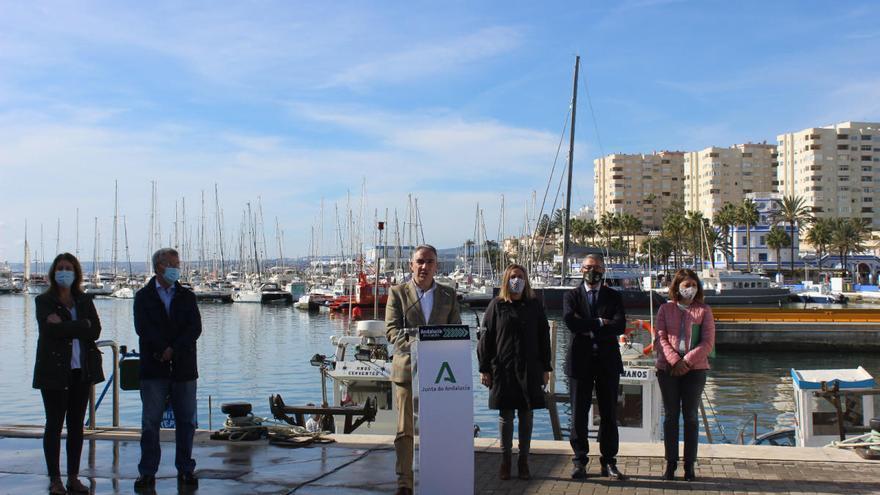 Comienzan las obras de los accesos y conexión del puerto de Estepona con el paseo marítimo