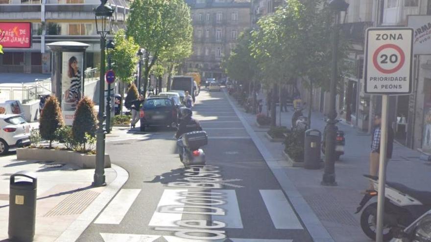 Ronda de Don Bosco es una de las calles que están ya limitadas a 20 km/h