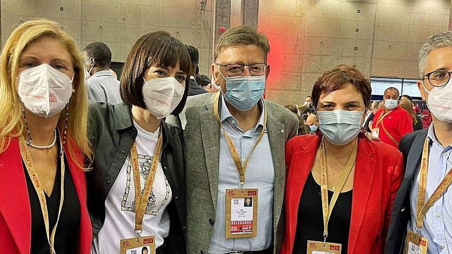 Los valencianos en la ejecutiva reivindican la financiación y al Consell
