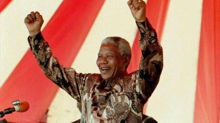 Los diez grandes hitos en la vida de Nelson Mandela