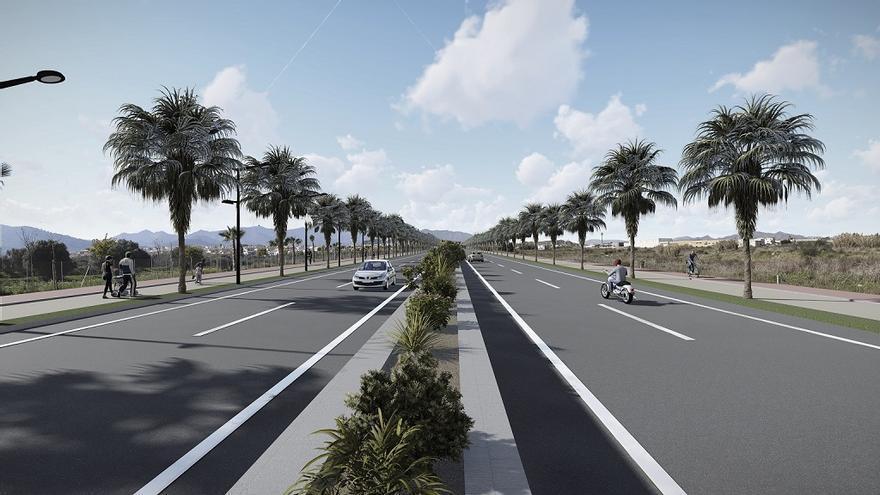 Ceden a la Junta la titularidad del vial de acceso a la autovía en Alhaurín