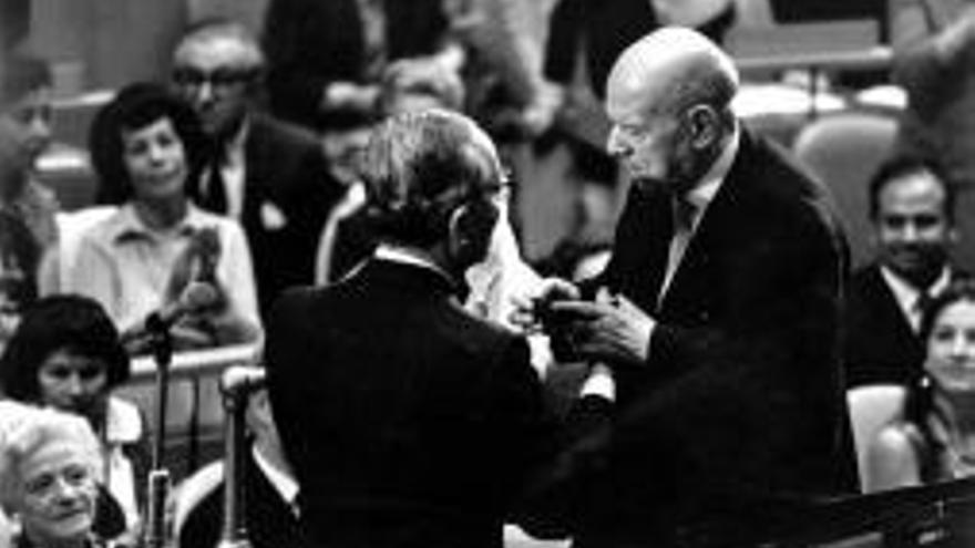Pau Casals a l'ONU, 1971