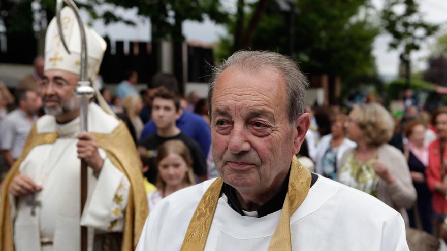 Fallece Don Pío, párroco de San Julián de Somió durante medio siglo
