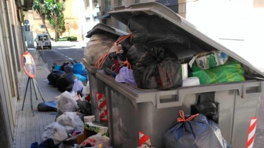 El larvado conflicto de la basura
