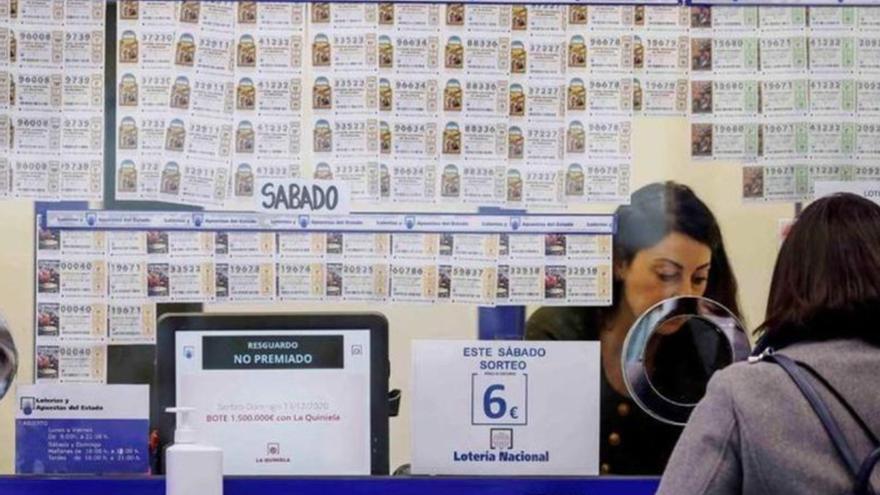 Gana más de tres millones de euros gracias a la Bonoloto