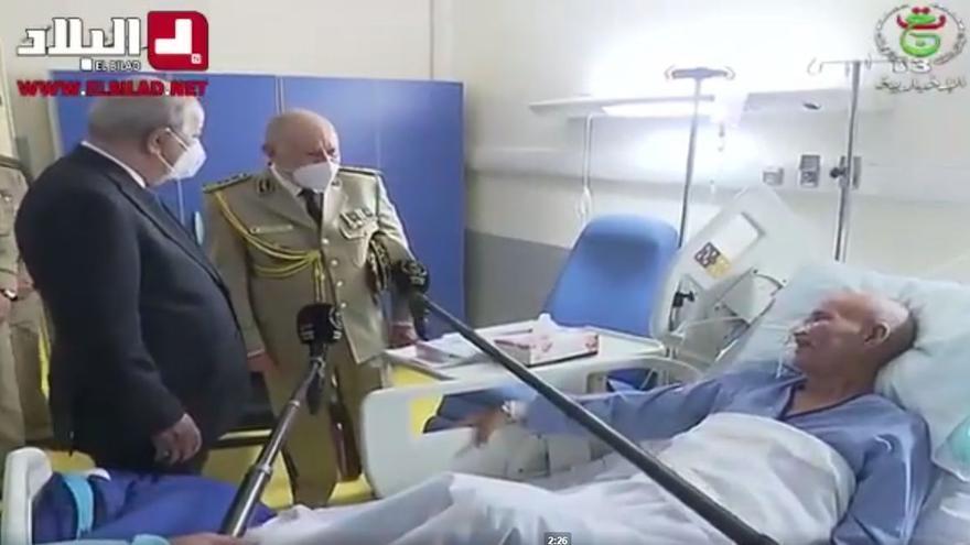 Gali, hospitalizado en una clínica militar de Argel