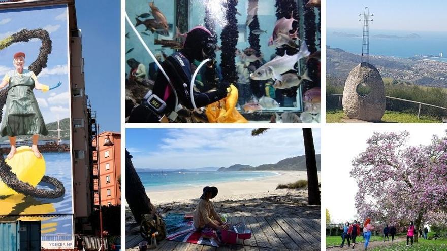 Planes de ocio al aire libre en Vigo para respirar en Semana Santa