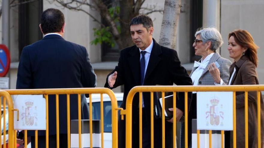 Trapero demana l'absolució i assegura que mai ha posat els Mossos al servei d'interessos independentistes