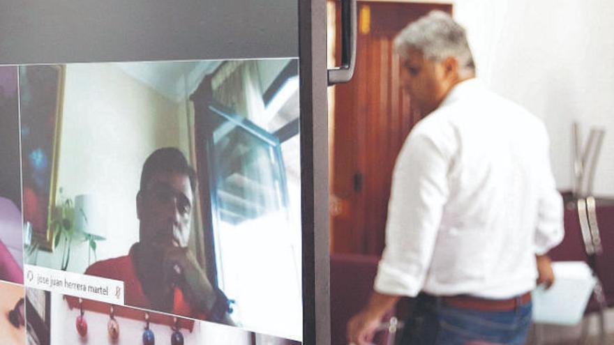 El ICI exige suspender de manera cautelar al edil José Juan Herrera
