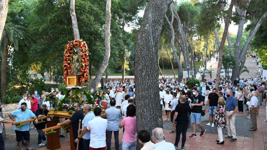Revive el último día de las fiestas de Vila-real con el retorno de la Mare de Déu de Gràcia al Termet y el concierto de Mocedades