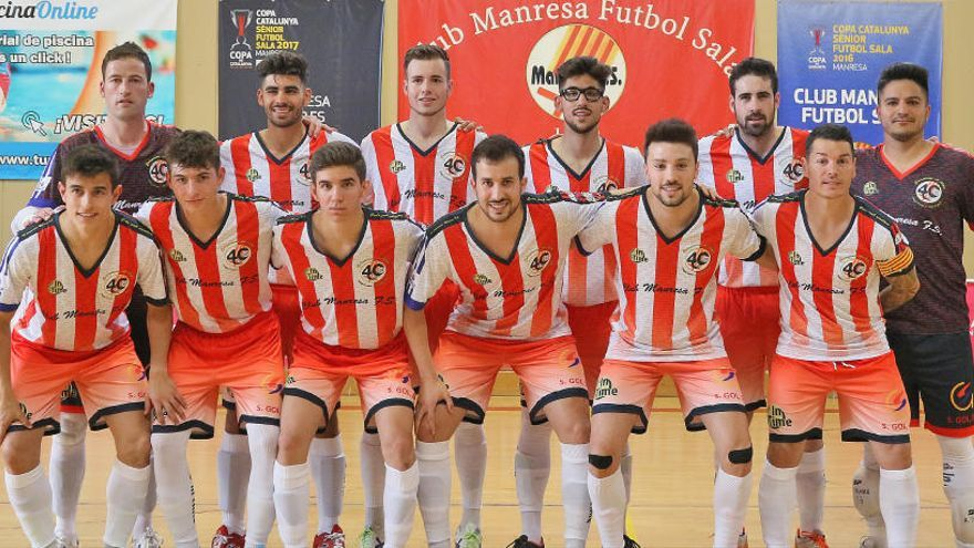 El Manresa FS es juga entrar a la Final Four catalana, avui a Salou