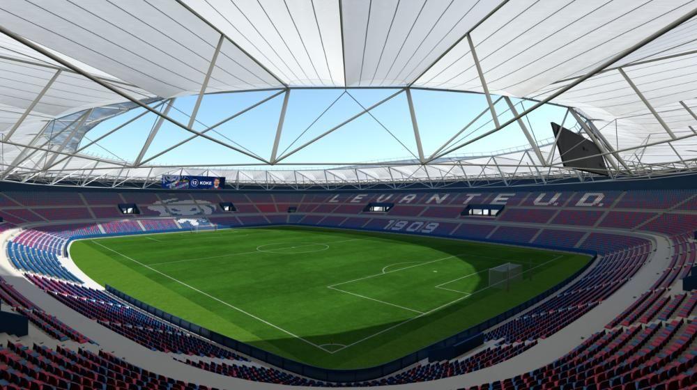 Así será el nuevo estadio Ciutat de València