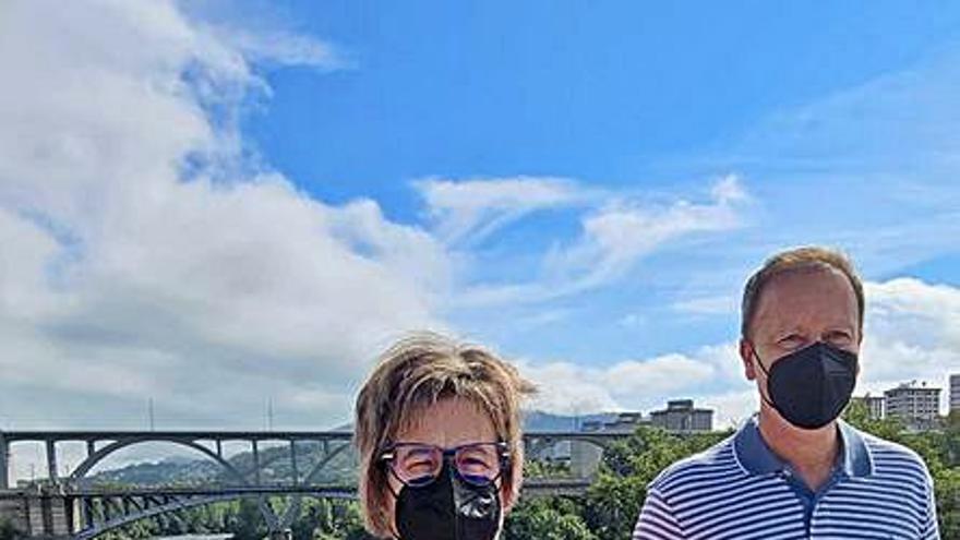 El PSOE pide hoy al pleno que el Puente Nuevo se rebautice como Ponte de Federico García Lorca