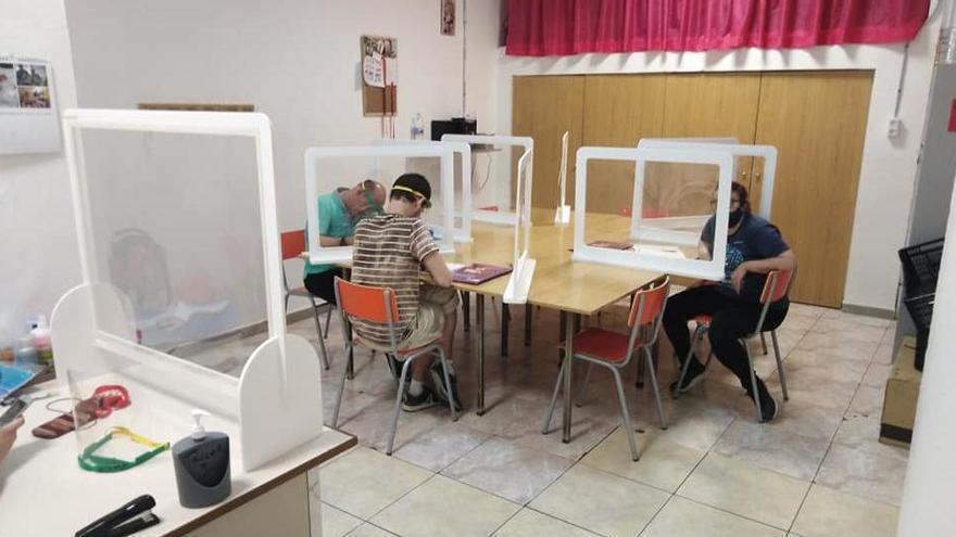 El Centro Ocupacional Los Silos de Burjassot reabre sus puertas