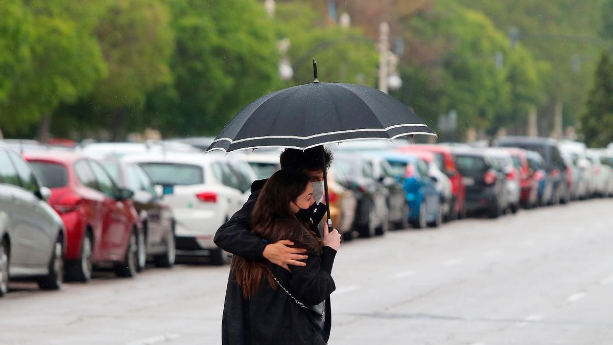 El tiempo en Valencia hoy: la lluvia no da respiro