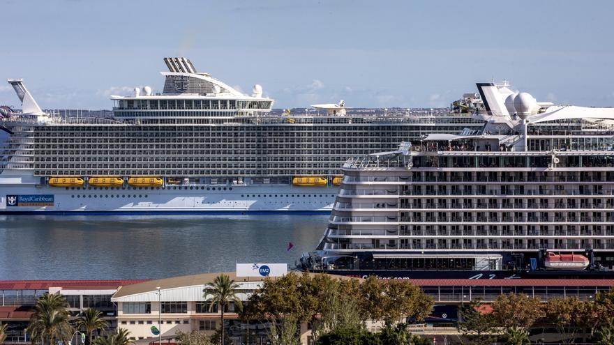 El puerto de Palma recibirá  92 escalas de cruceros entre octubre y diciembre
