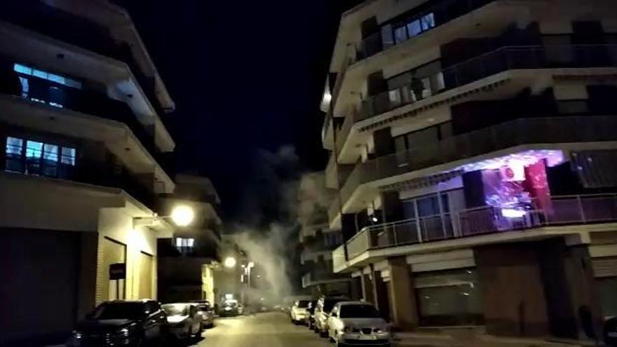 Discomóvil en el balcón en Xàbia para sobrellevar el confinamiento