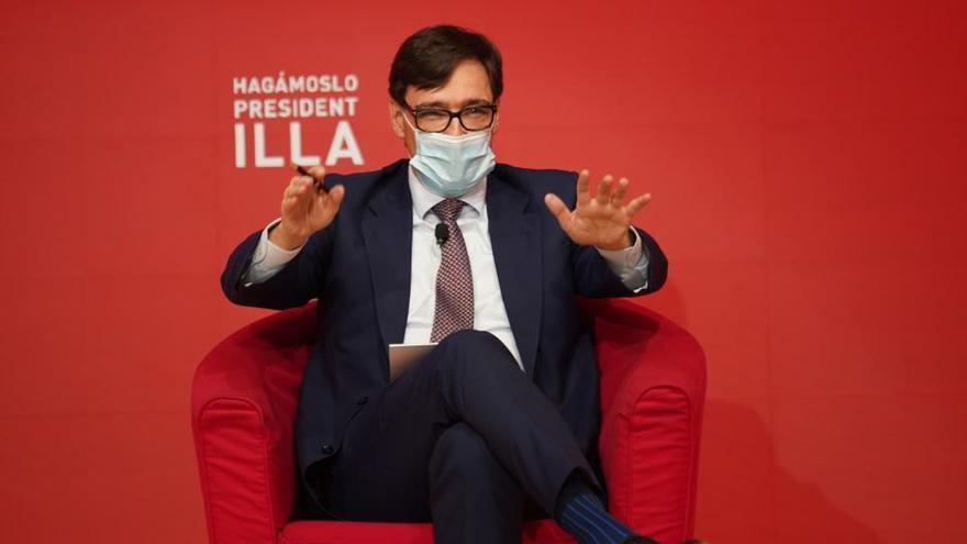 Illa defiende retomar la mesa de diálogo catalana después del 14F