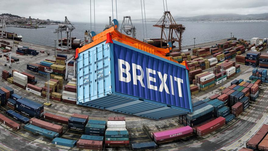 El Brexit hunde las importaciones gallegas desde Reino Unido al mínimo en 30 años