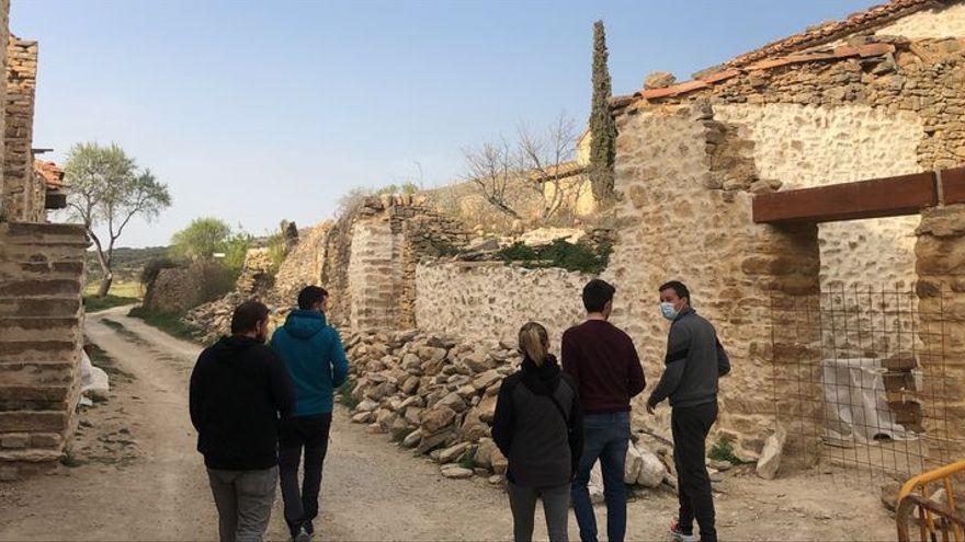 Recuperan un poblado de Castellón abandonado durante 30 años para turismo rural