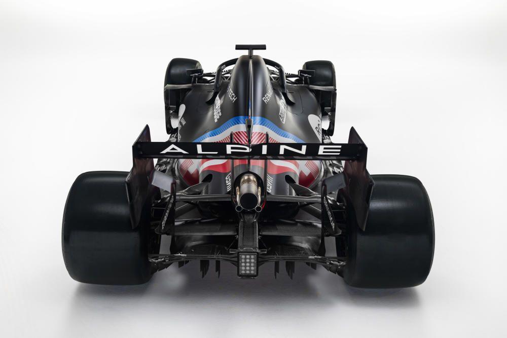 Así es el nuevo Alpine A521 de Fernando Alonso