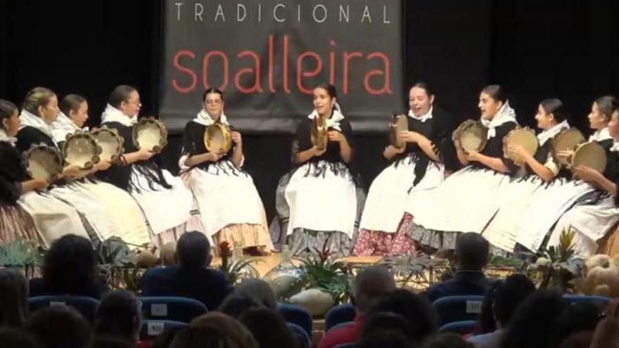 Peis d´hos se alza con tres premios en el Concurso de Música Tradicional Soalleira