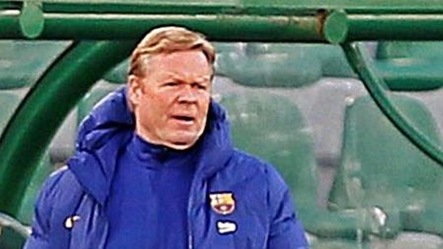 Ronald Koeman: «La clave ha estado en el juego sin balón de nuestros futbolistas»