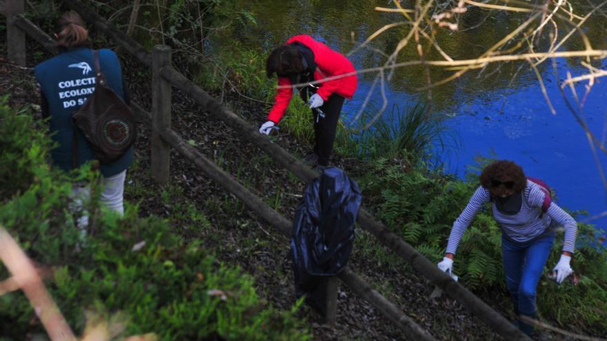 Convocan limpiezas colectivas de ríos en Ribadumia, Meis, O Grove, Valga y Catoira
