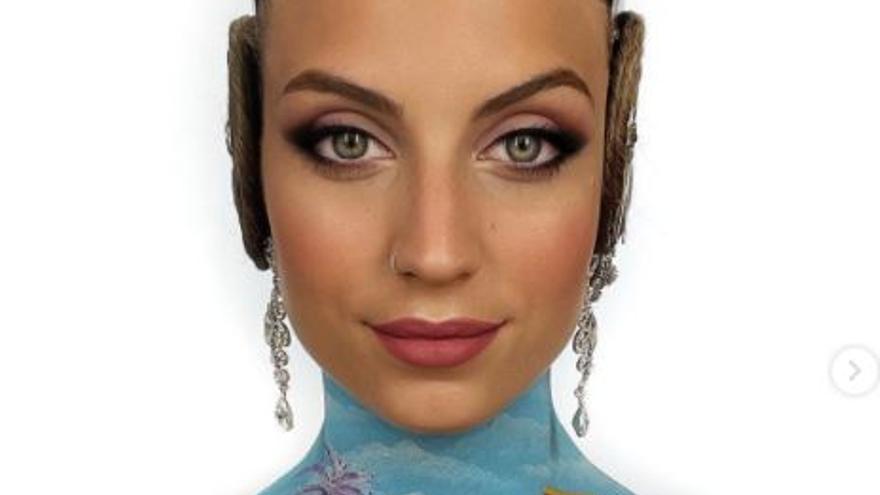 La Meditadora, también en la piel de la maquilladora Nuria Adraos