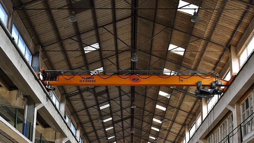 Grupo Iffe utilizará durante un máximo de dos años naves de la antigua fábrica de armas