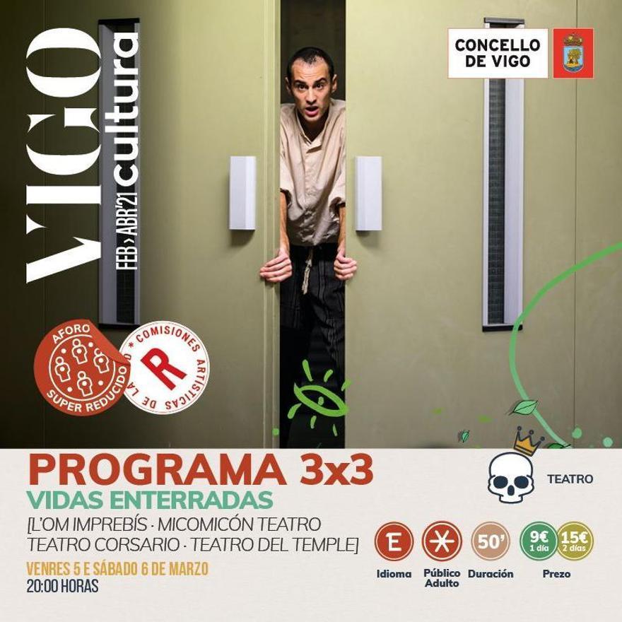 Programación de VigoCultura 2021 en marzo