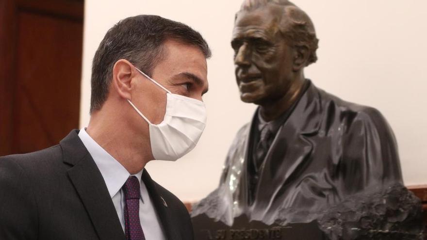 Sánchez defenderá mantener las ayudas de Estado de la UE más allá de este año