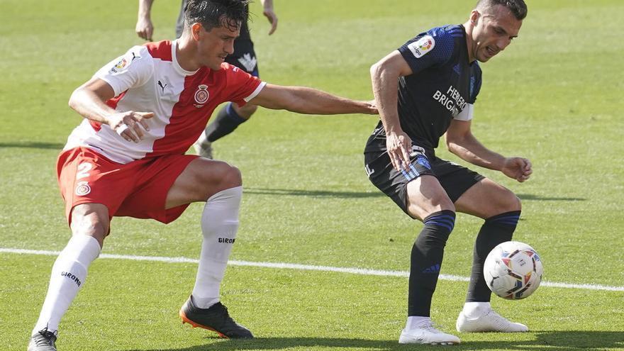 El Girona confirma les lesions de Samu Sáiz i Bernardo